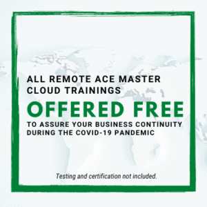 ACE Master Cloud Trainings Free (without testing/certification)