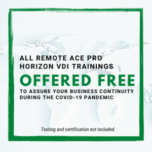 ACE Pro VDI Trainings Free (without testing/certification)