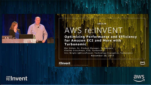 AWS re: Invent 2017 Optimizing Performance and Efficiency for Amazon EC2 and More with Turbonomic