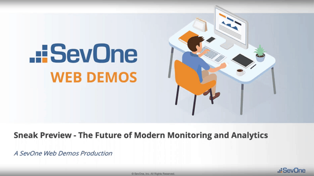 The Future of Modern Monitoring & Analytics