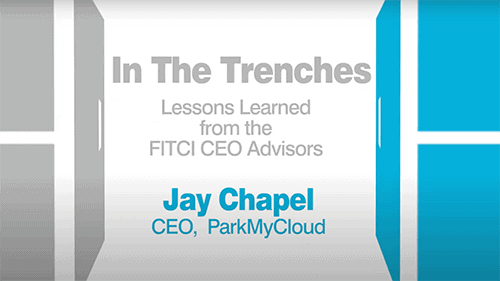 In the Trenches Jay Chapel, ParkMyCloud Episode 29