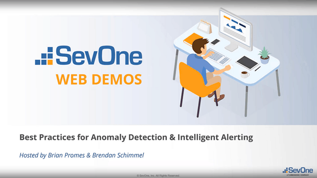 Best Practices for Anomaly Detection (Intelligent Alerting) with SevOne