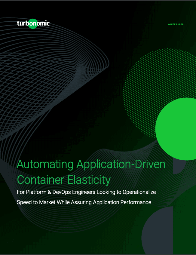 Automating Application-Driven Continer Elasticity Cover