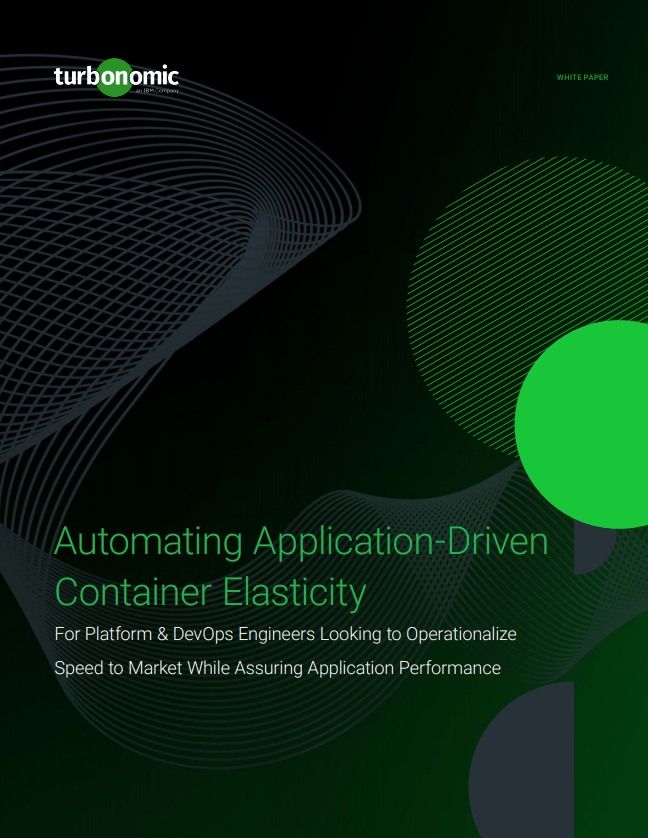Application Driven Container Elasticity